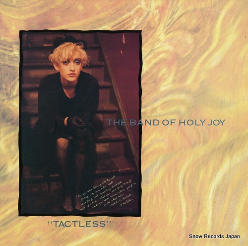 BAND OF HOLY JOY, THE tactless RTT223 - front cover