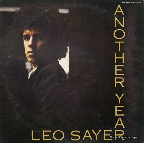 SAYER, LEO another year WWS-80903 - front cover