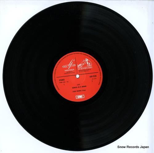 BERMAN, LAZAR plays liszt ASD3228 - disc