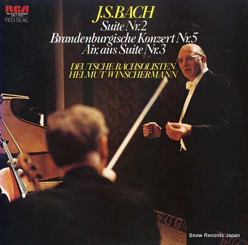 WINSCHERMANN, HELMUT bach; suite nr.2 / brandenbergische konzert nr.5 / air,aus suite nr.3 RX-2379 - front cover