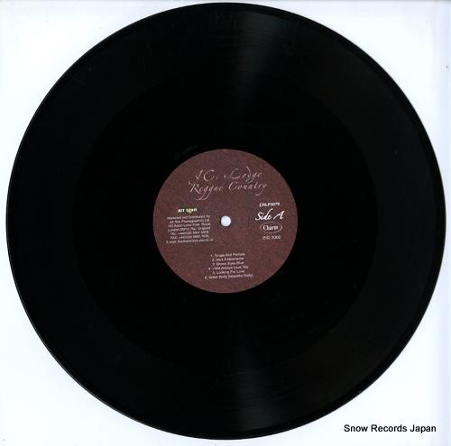 LODGE, JC reggae country CRLP3079 - disc