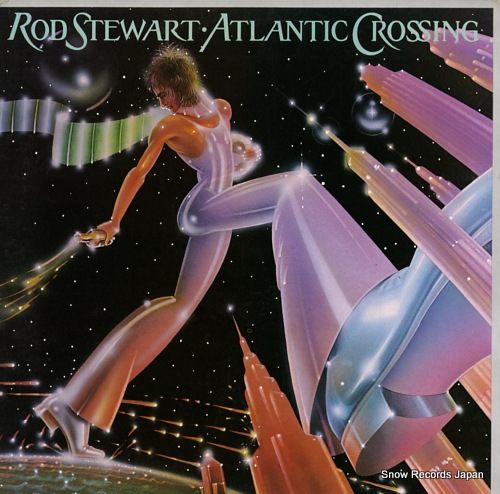 STEWART, ROD atlantic crossing K56151 - front cover