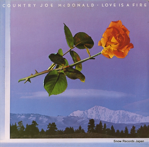 MCDONALD, COUNTRY JOE love is a fire F-9511 - front cover
