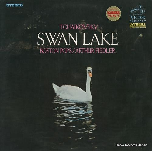 FIEDLER, ARTHUR tchaikovsky; swan lake SHP-2327 - front cover