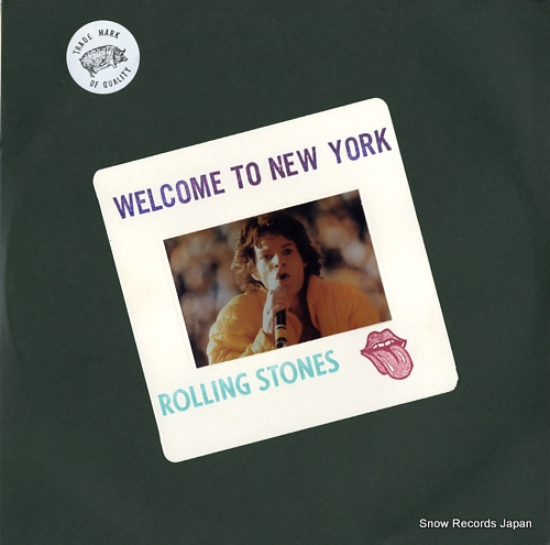 ザ・ローリング・ストーンズ welcome to new york RS546