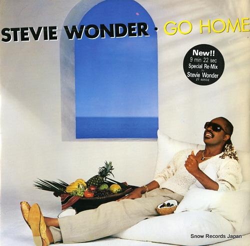 WONDER, STEVIE go home ZT40502 - front cover