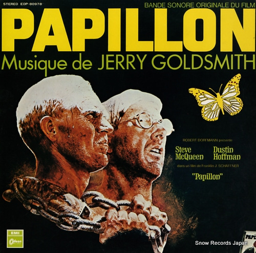 GOLDSMITH, JERRY papillon EOP-80978 - front cover
