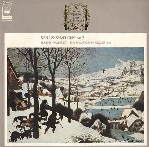 ORMANDY, EUGENE sibelius; symphony no.2 SOCF22005 - front cover