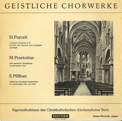CHRISTKATHOLISCHEN KIRCHENCHORES BERN geistliche chorwerke CKB30.47 - front cover