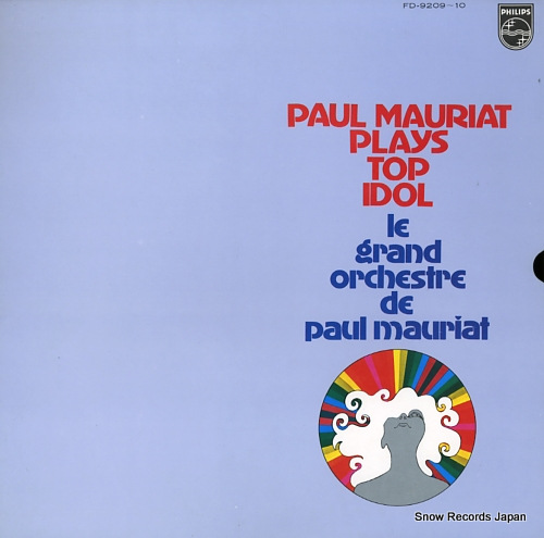 MAURIAT, PAUL paul mauriat plays top idol FD-9209-10 - front cover