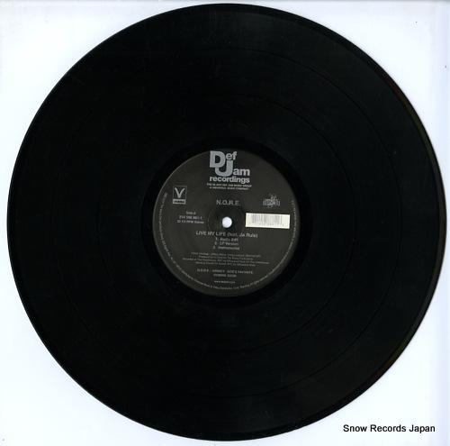 N.O.R.E. live my life 314558881-1 - disc