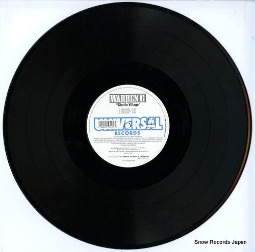 WARREN G ghetto village 440015749-1 - disc