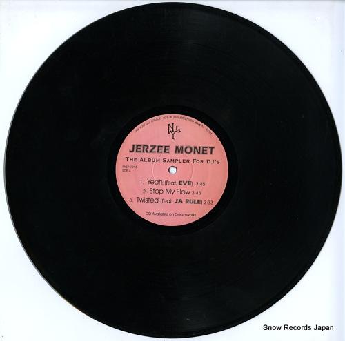MONET, JERZEE the album sampler for dj's NYEP7913 - disc