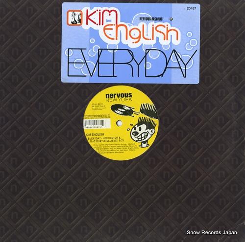 ENGLISH, KIM everyday NE20487 - front cover