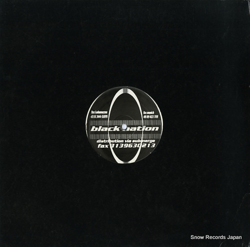 COWLES, ELLERY VS. JAY DENHAM black project ep BNR300 - back cover