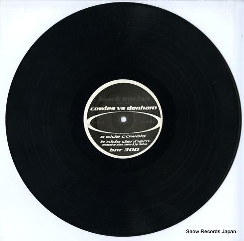 COWLES, ELLERY VS. JAY DENHAM black project ep BNR300 - disc