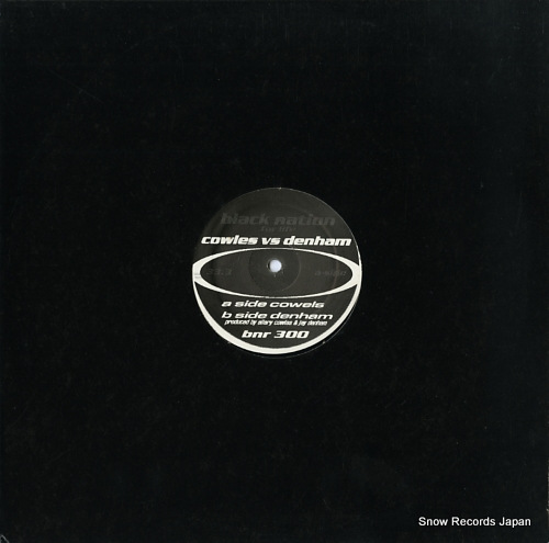 COWLES, ELLERY VS. JAY DENHAM black project ep BNR300 - front cover