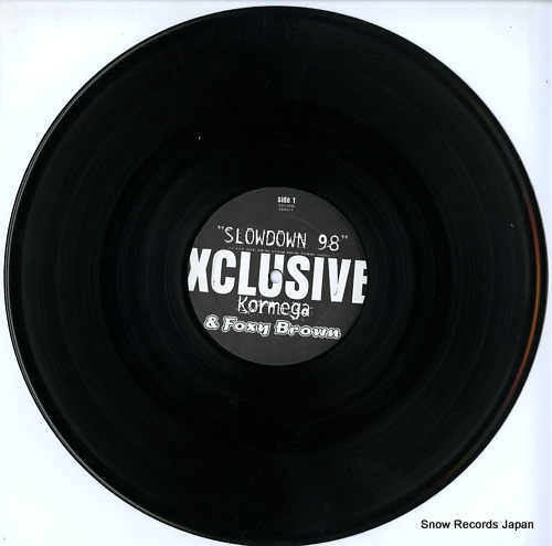 KORMEGA AND FOXY BROWN slow down 98 EE0017-1 - disc