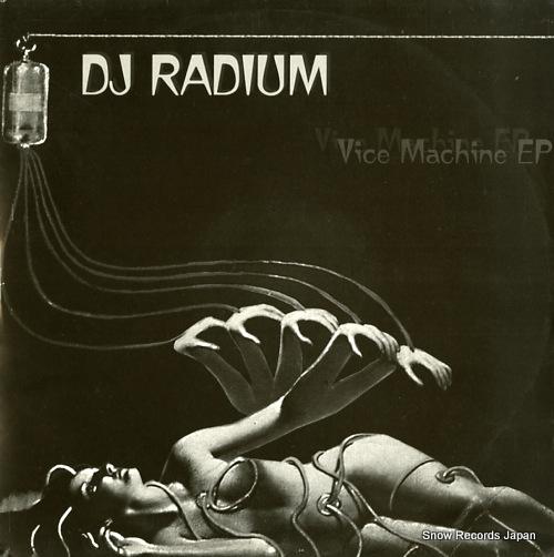 DJ RADIUM vice machine ep PKG08 - front cover