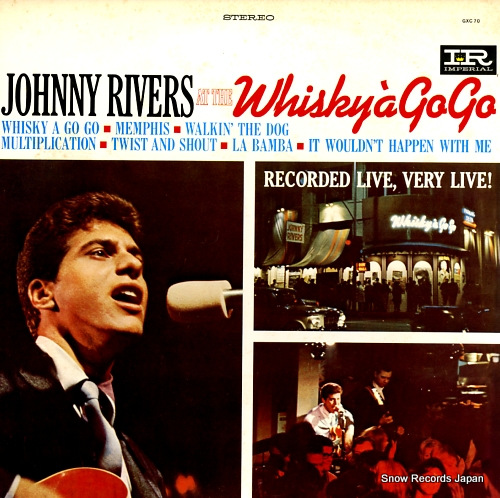 RIVERS, JOHNNY at the whisky a go go GXC70 - front cover