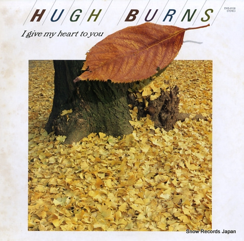 BURNS, HUGH i give my heart to you EWS-91138 - front cover