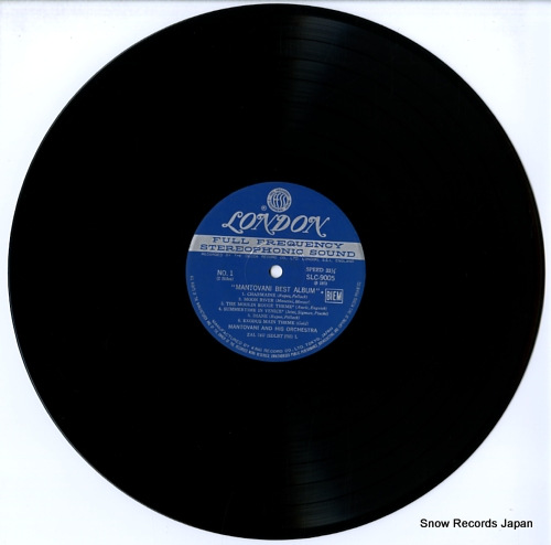 MANTOVANI relax music mantovani best album SLC9005 - disc
