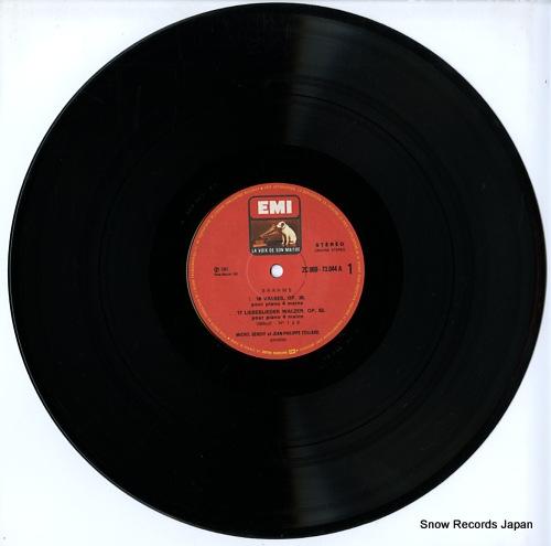 BEROFF, MICHEL / JEAN-PHILIPPE COLLARD brahms; liebeslieder walzer op.52 2C069-73044 - disc