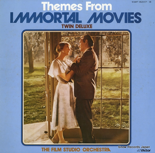 FILM STUDIO ORCHESTRA themes from immortal movies twin deluxe SWF-8207-8 - front cover