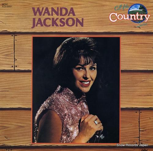 JACKSON, WANDA wanda jackson ECS-50057 - front cover
