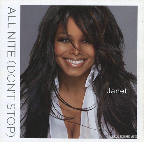 JACKSON, JANET all nite(don't stop) VUST292 - front cover