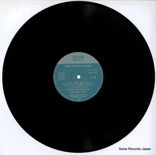 LEMMEN, GUNTHER musik fur viola d'amore FSM53624 - disc