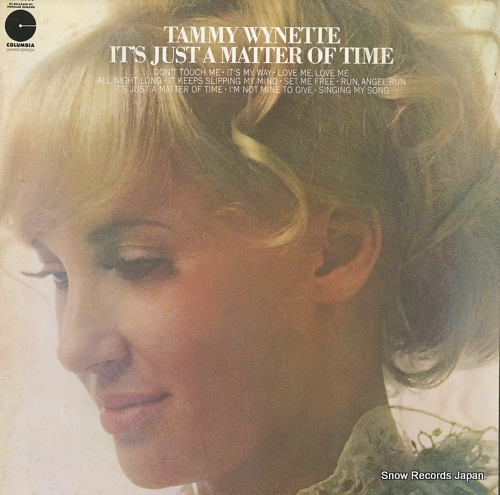 WYNETTE, TAMMY it's just a matter of time LE10598 - front cover