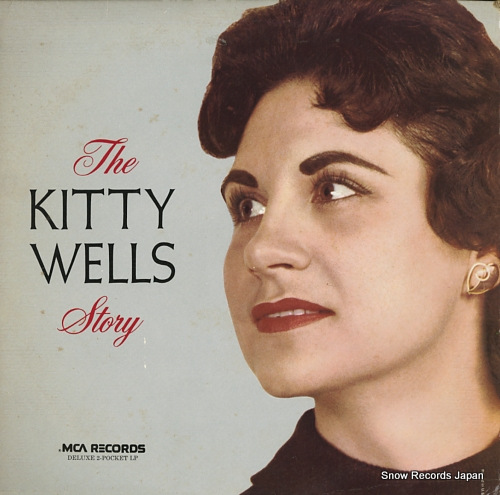 WELLS, KITTY the kitty wells story MCA2-4031 - front cover