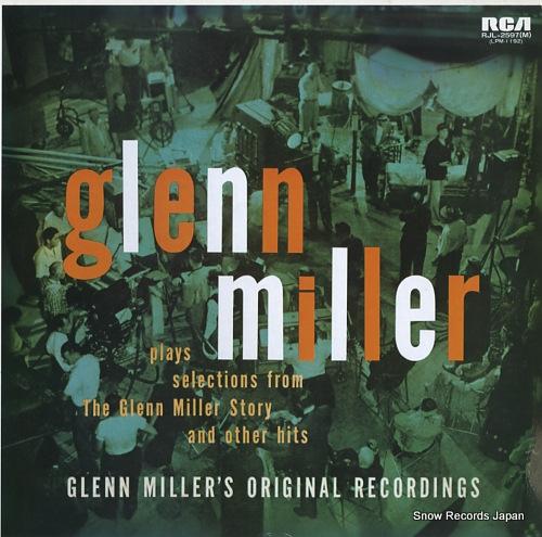 MILLER, GLENN glenn miller RJL-2597(M) - front cover