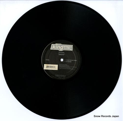 DOUBLE desire / shake (frankie feliciano & eric kupper mixes) KSS1213 - disc