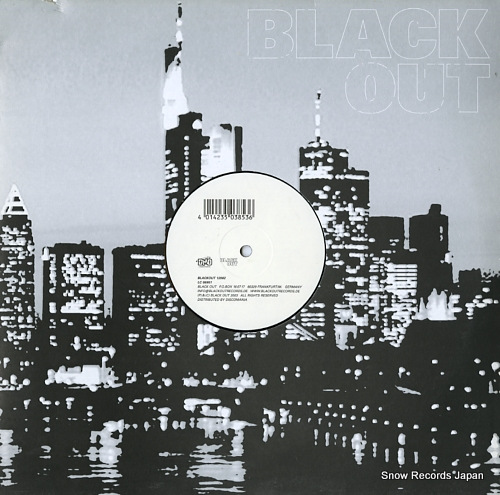 DESKEE i'll house you BLACKOUT12002 - front cover
