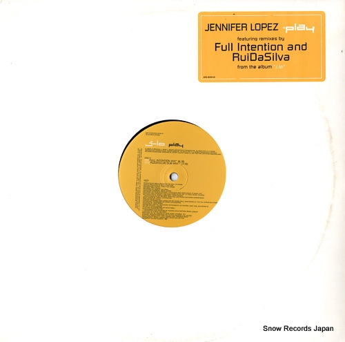 LOPEZ, JENNIFER play (full intention and ruidasilva rmixes) EAS16704-S1 - front cover
