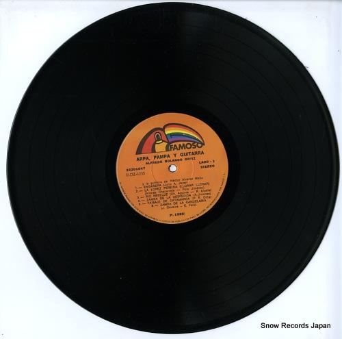 ORTIZ, ALFREDO ROLANDO arpa, pampa y guitarra LDF104 - disc