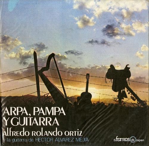 ORTIZ, ALFREDO ROLANDO arpa, pampa y guitarra LDF104 - front cover