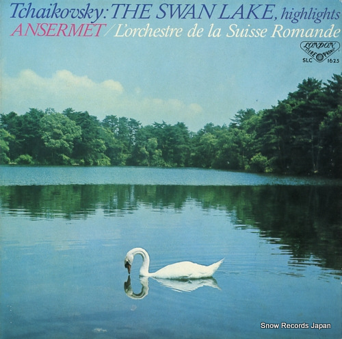 ANSERMET, ERNEST tchaikovsky; the swan lake, highlights SLC1625 - front cover