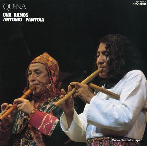 RAMOS, UNA / ANTONIO PANTOJA quena SWF-8367-8 - front cover