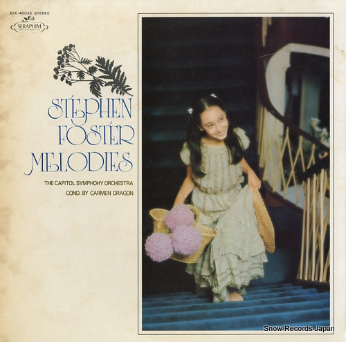 DRAGON, CARMEN stephen foster melodies ECC-40035 - front cover