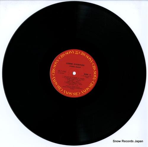 BUZON, PIERRE comme d'habitude 28AP2999 - disc