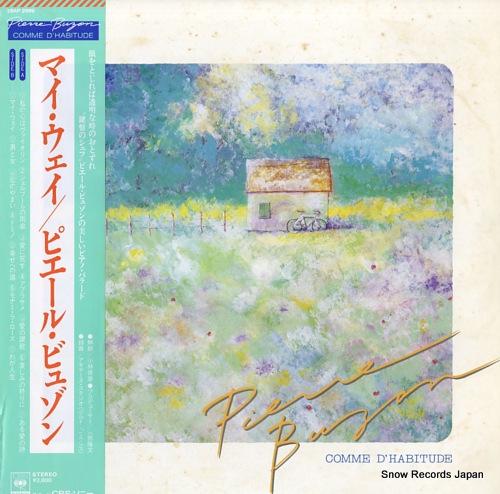 BUZON, PIERRE comme d'habitude 28AP2999 - front cover