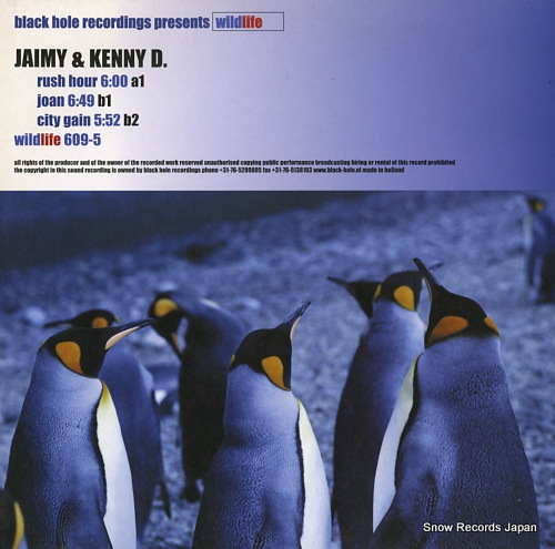 JAIMY AND KENNY D. rush hour WILDLIFE609-5 - front cover