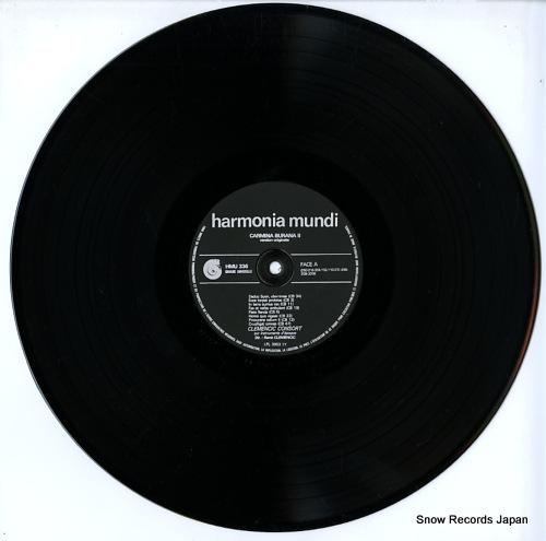 CLEMENCIC, RENE carmina burana. version originale & integrale. volume 2 HM336 - disc