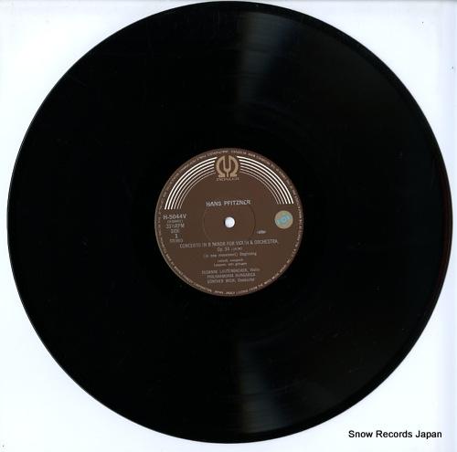 LAUTENBACHER, SUSANNE hans pfitzner; violin concerto in b minor, op.34 H-5044V - disc