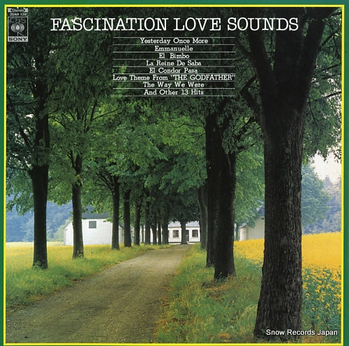 MICHI, SHIRO, AND FANTASTIC SOUNDS fascination love sounds 20AH139 - front cover