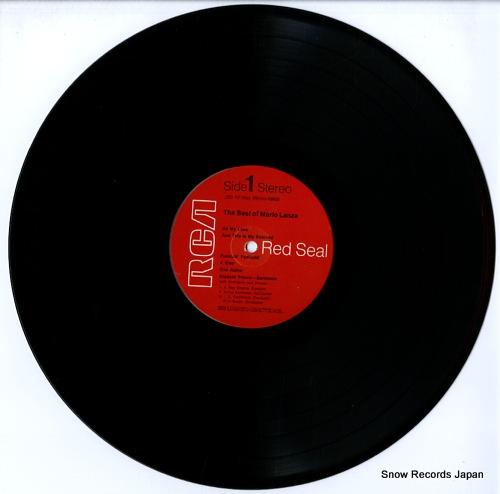 LANZA, MARIO the best of mario lanza LSC-2748 - disc