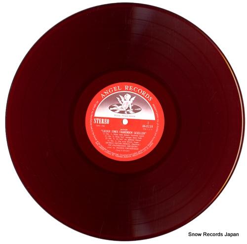 FISCHER-DIESKAU, DIETRICH mahler; lieder eines fahrenden gesellen AA.8159 - disc